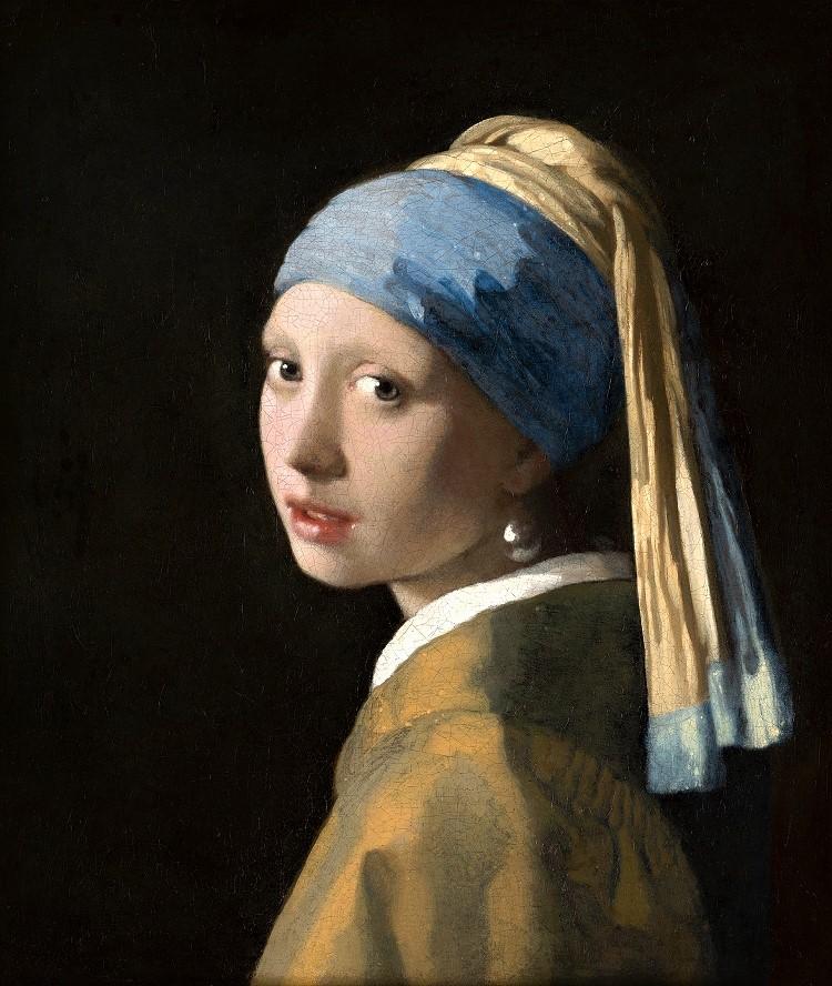 """""""Ragazza con l'orecchino di perla"""" di Jan Vermeer"""
