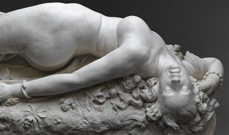 Madame Apollonie Sabatier La Presidente di Auguste Clesinger