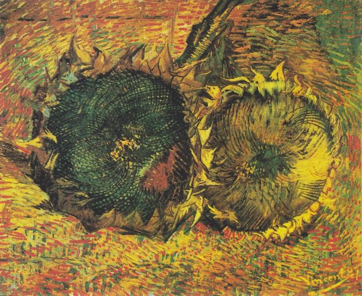 """""""Due girasoli recisi"""" di Vincent van Gogh"""