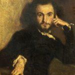 """""""Ritratto di Charles Baudelaire"""" di Emile Deroy"""