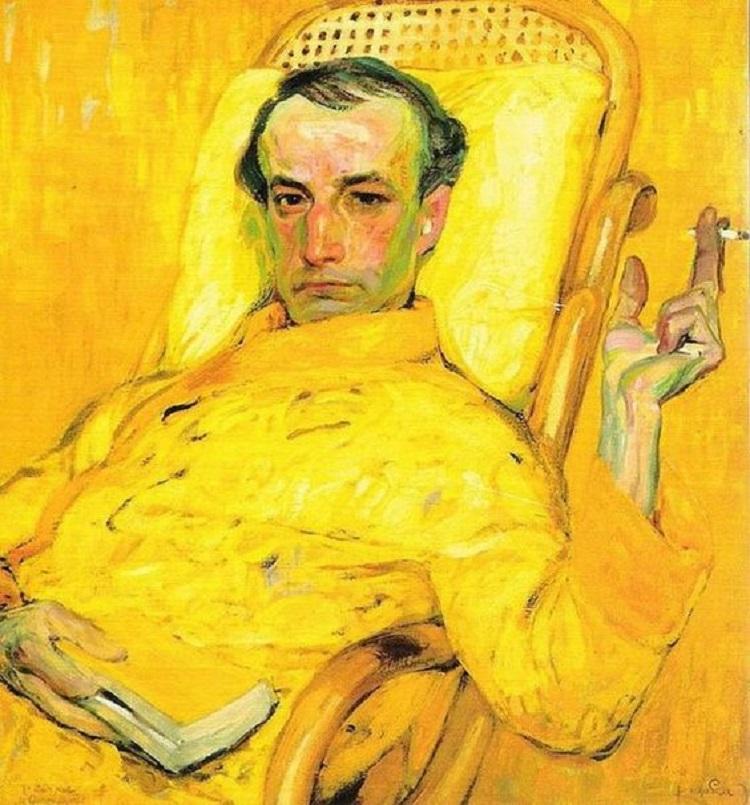 """""""Ritratto di Charles Baudelaire"""" di Frantisek Kupka"""