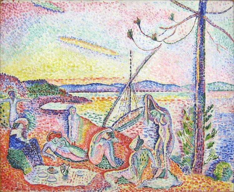 """""""Lusso, calma e voluttà"""" di Henri Matisse. Ispirato da """"I Fiori del Male"""" di Charles Baudelaire"""