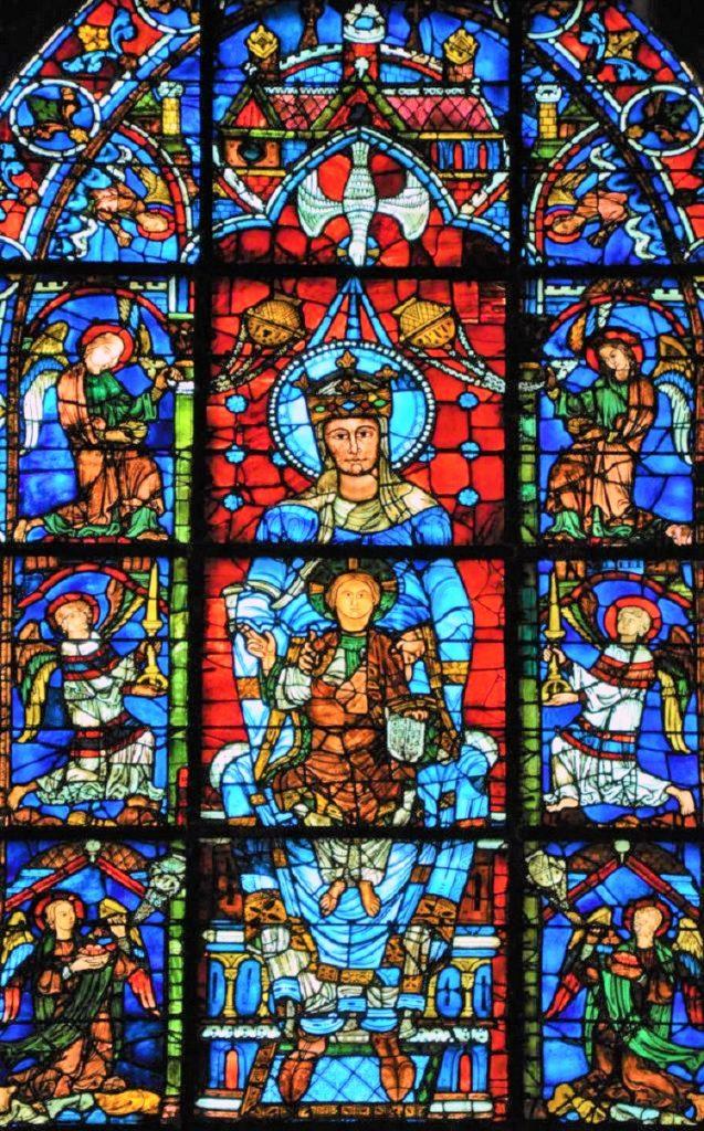 """""""Notre Dame de la Belle Verriere - Nostra Signora della Bella Vetrata"""""""
