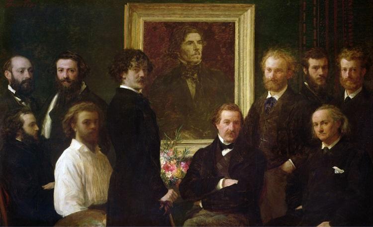 """""""Omaggio a Delacroix"""" di Henri Fantin Latour"""