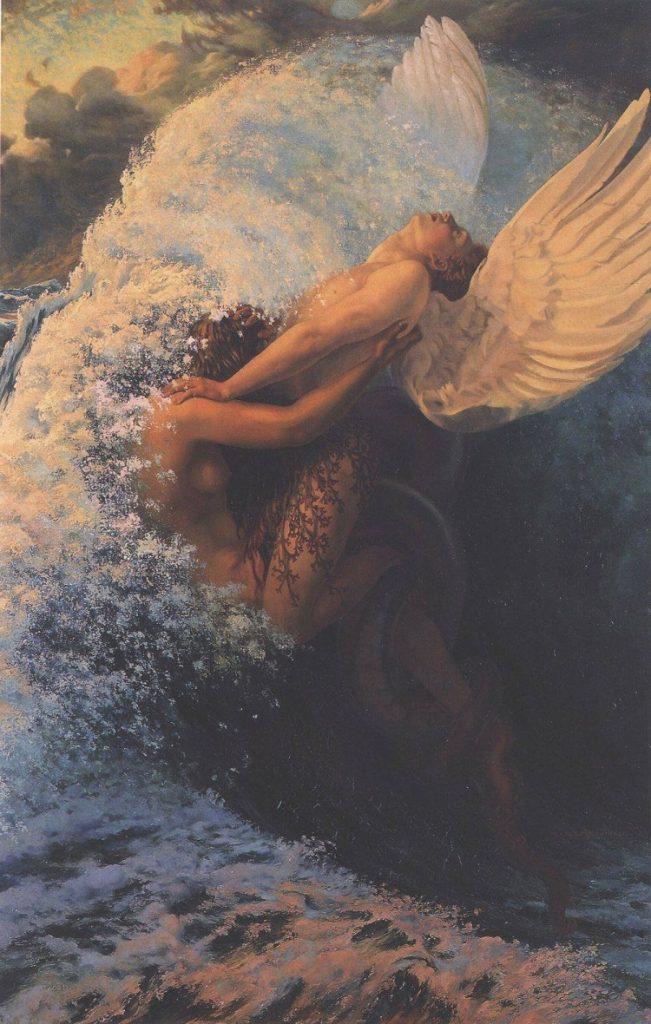 """""""Spleen et ideal"""" di Schwabe. Ispirato da """"I Fiori del Male"""" di Charles Baudelaire"""