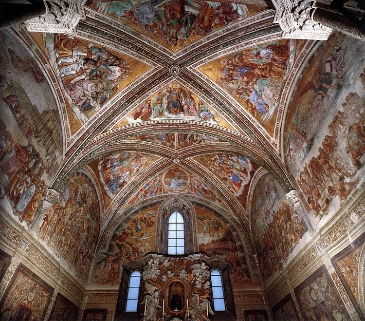 """Cappella di San Brizio. Ciclo sul """"Giudizio Universale"""" di Luca Signorelli"""