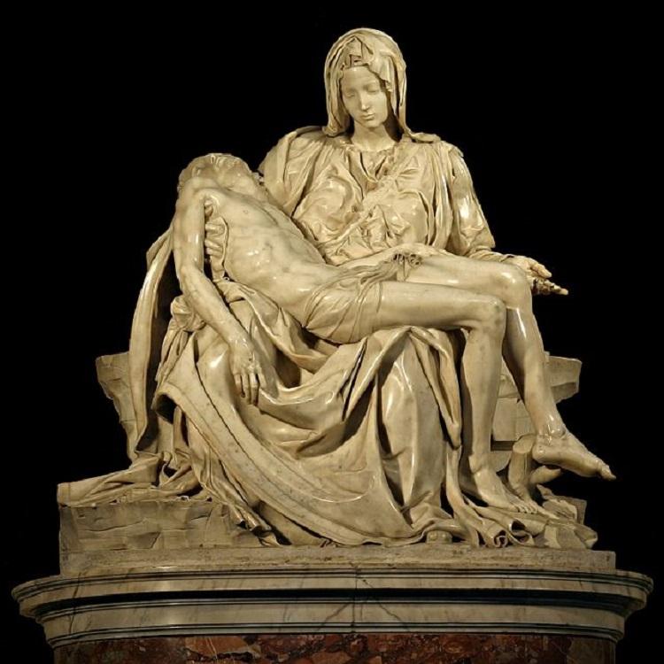 """La """"Pietà"""" di Michelangelo Buonarroti"""