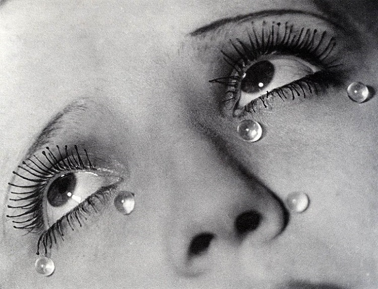 """""""Lacrime di vetro"""" di Man Ray, 1930-1932"""