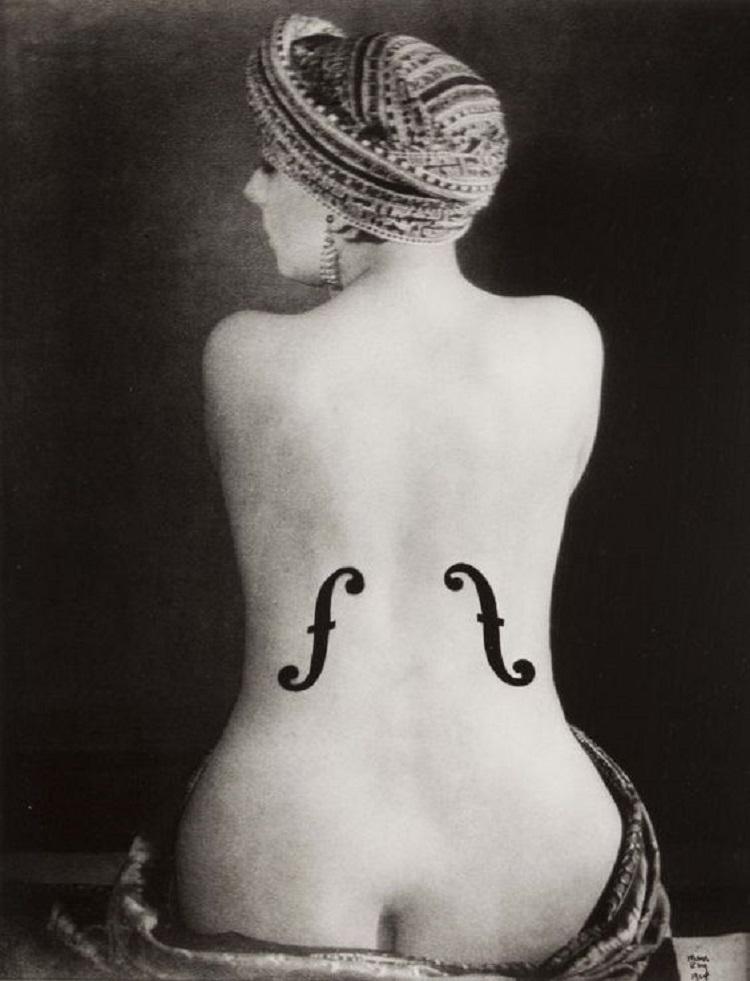 """""""Il violino di Ingres"""" di Man Ray, 1924"""