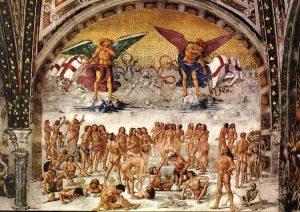 """""""Giudizio Universale"""" di Luca Signorelli. """"Resurrezione della carne"""""""