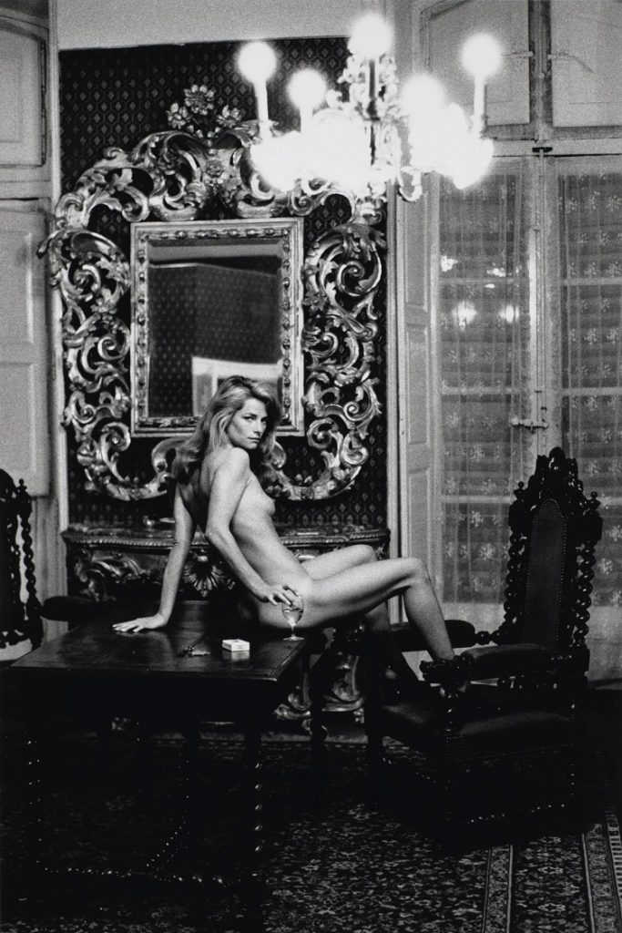 """""""Charlotte Rampling"""" di Helmut Newton"""