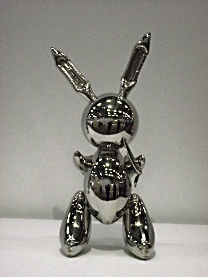 """Rabbit"" di Jeffrey Koons"