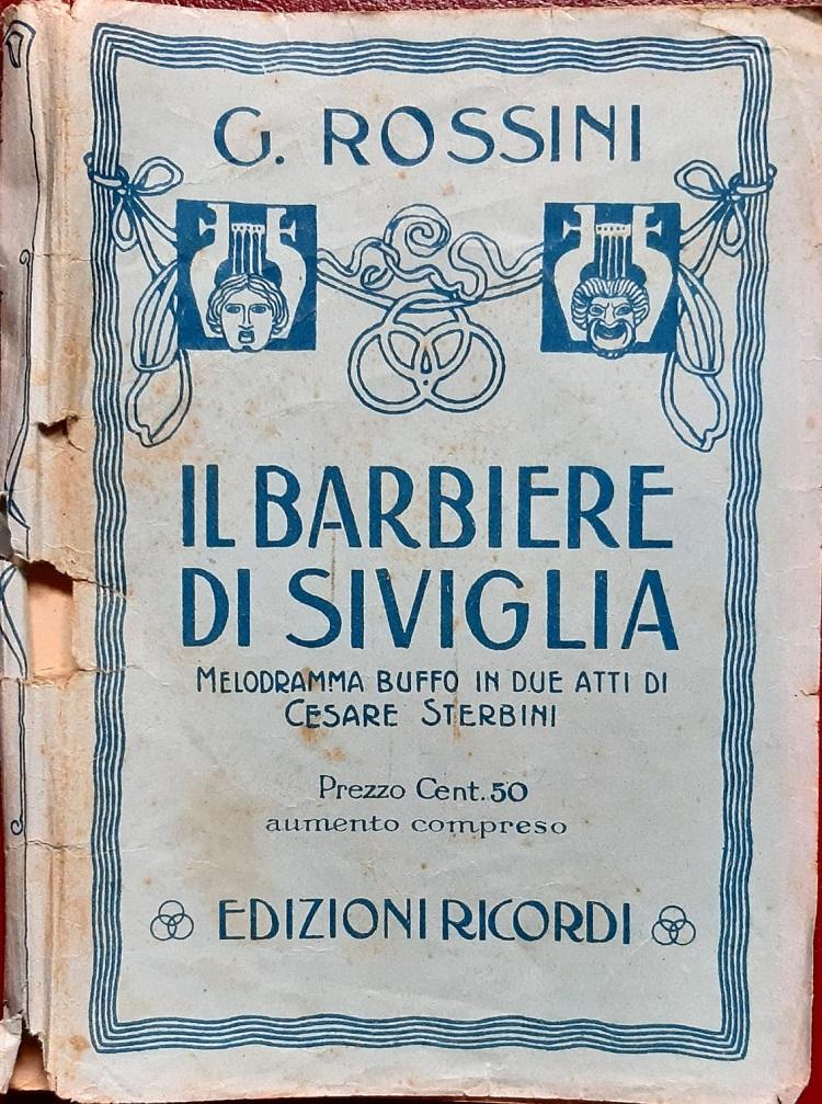 Il Barbiere di Siviglia di Rossini