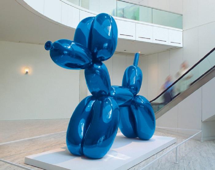 """Ballon Dog"" di Jeffrey Koons"