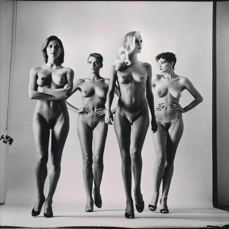"""""""Big Nudes"""" di Helmut Newton"""