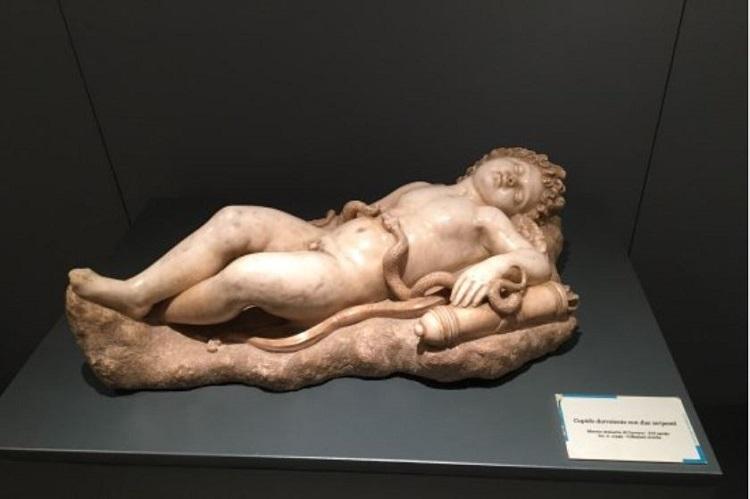"""""""Cupido addormentato"""" di Michelangelo Buonarroti"""