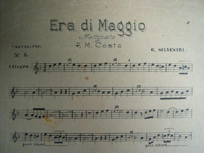 """""""Era di Maggio"""" di Salvatore Di Giacomo. Musica napoletana"""