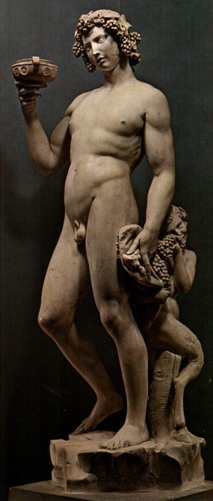 """Il """"Bacco ebbro"""" di Michelangelo"""