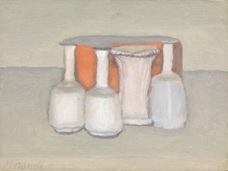 La Natura Morta di Giorgio Morandi, 1960
