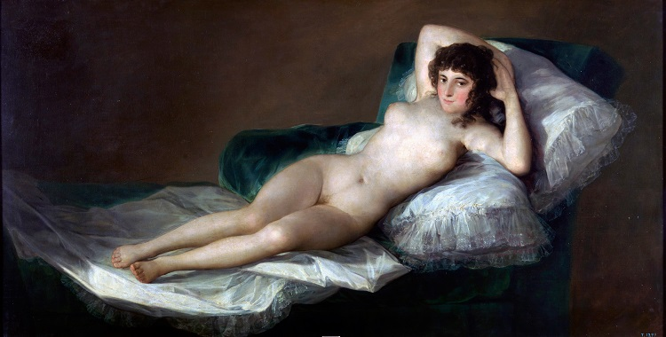 La Maja desnuda di Francisco Goya