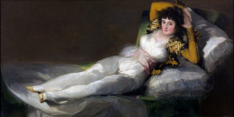 La Maja vestida di Francisco Goya