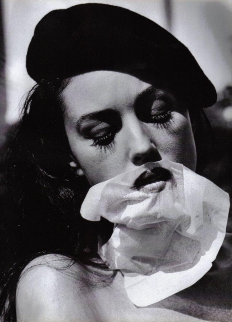 Monica Bellucci di Helmut Newton