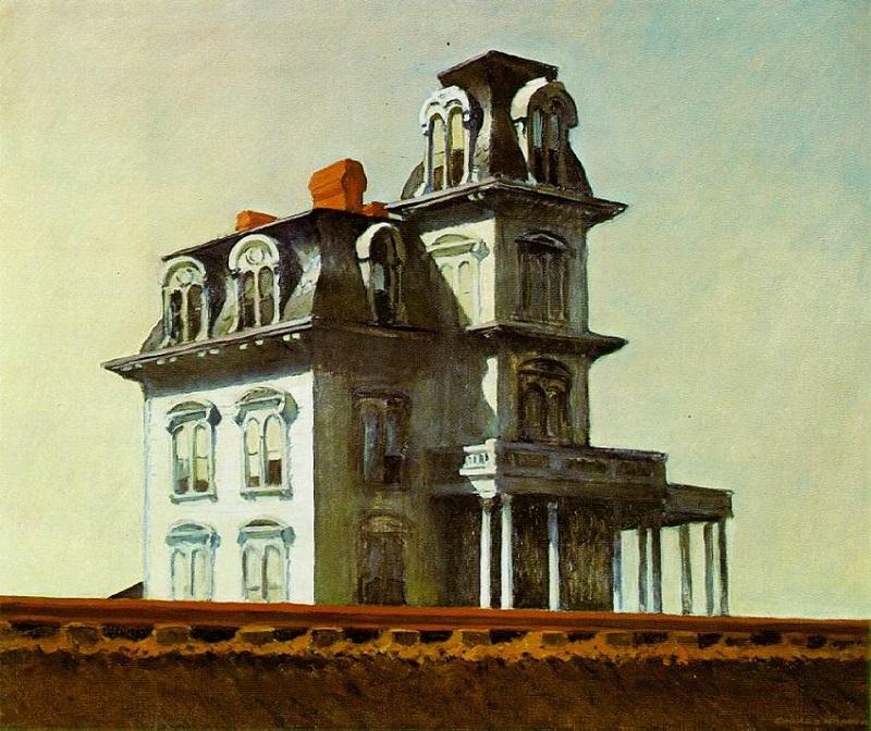 """House by the Railroad"" di Edward Hopper"