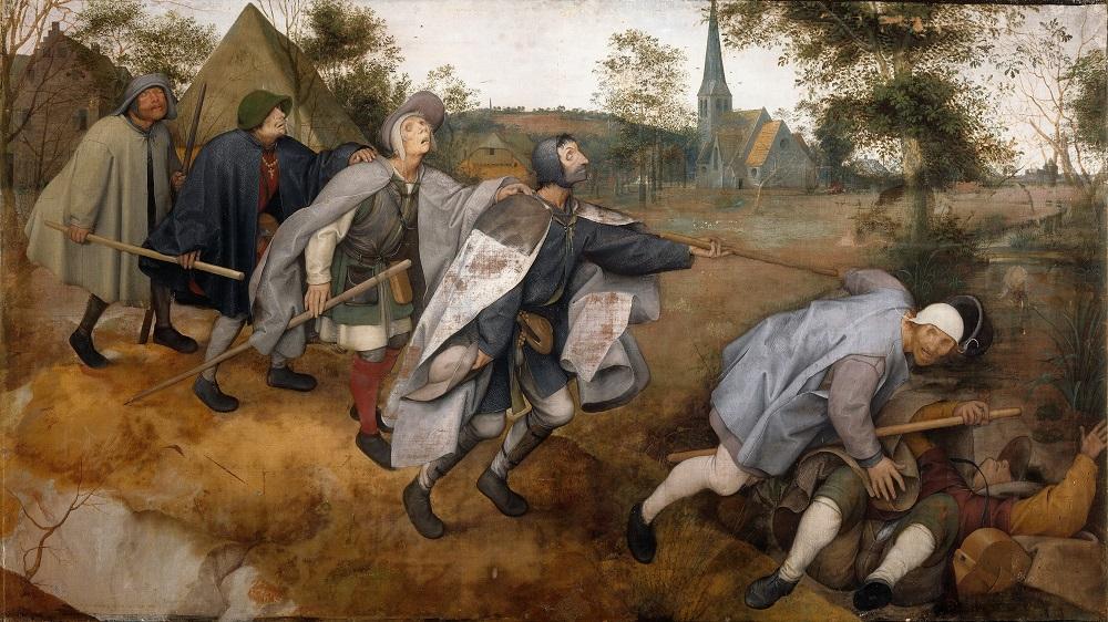 La parabola dei ciechi di Pieter Bruegel il Vecchio