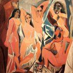 """""""Les Demoiselles d'Avignon"""" di Pablo Picasso"""