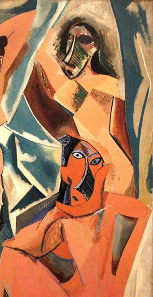 Dettaglio arte africana