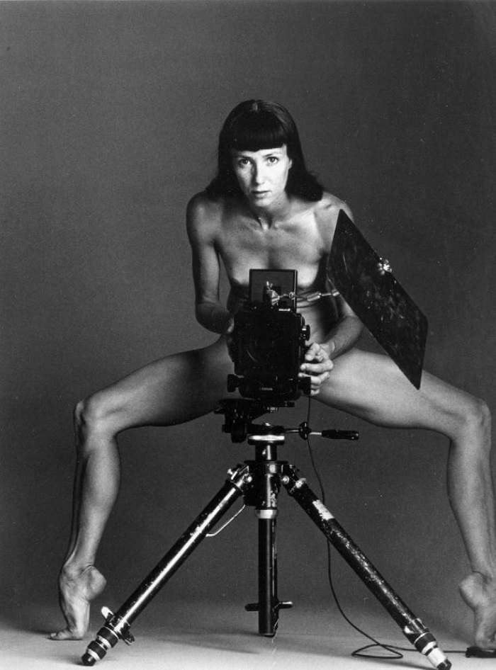 Nudo di Sylvie Guillem. Autoritratti
