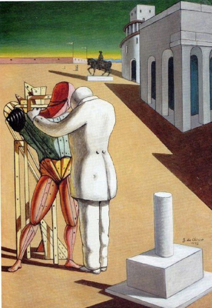 """""""Il figliuol prodigo"""" di Giorgio De Chirico"""