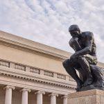 """""""Il Pensatore"""" di Rodin"""