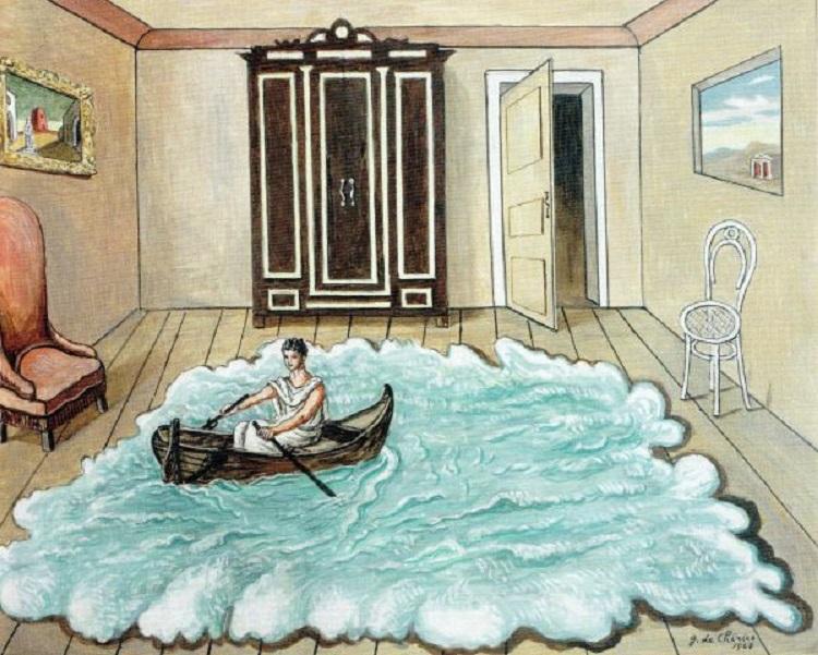 """""""Il ritorno di Ulisse"""" di Giorgio De Chirico"""
