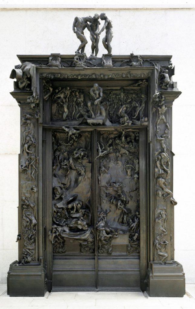"""""""La Porta dell'Inferno"""" di Rodin"""