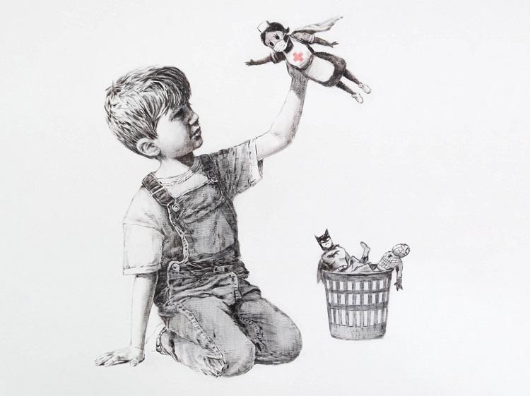 """Game Changer"" di Banksy"
