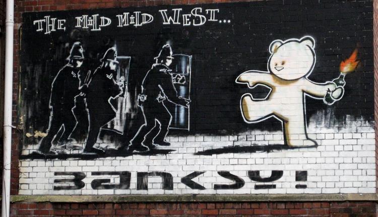 """The Mild Mild West"" Street Art"