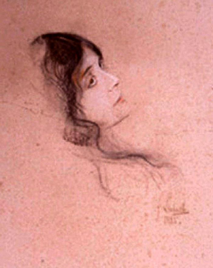 Eleonora Duse di von Lenbach