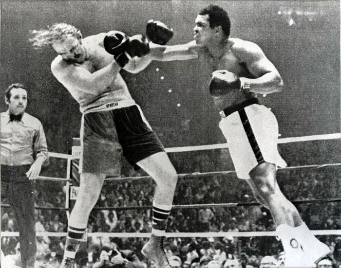 Sul ring Muhammad Ali contro Chuck Wepner