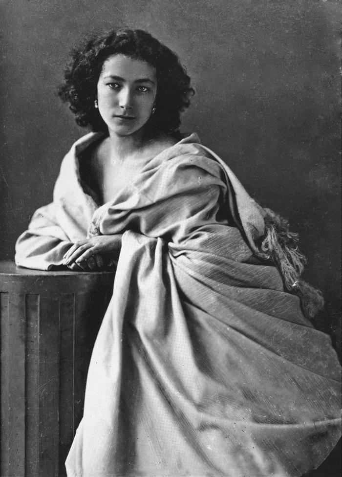 Sarah Bernhardt di Félix Nadar