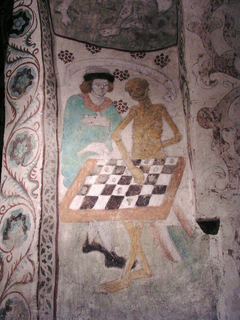 """""""La morte gioca a scacchi"""" di Pictor"""