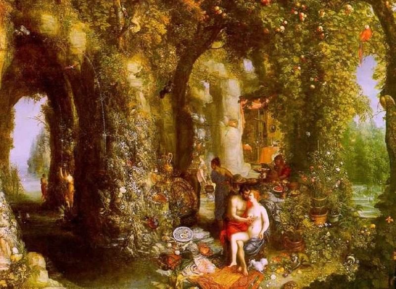 Odisseo e Calipso