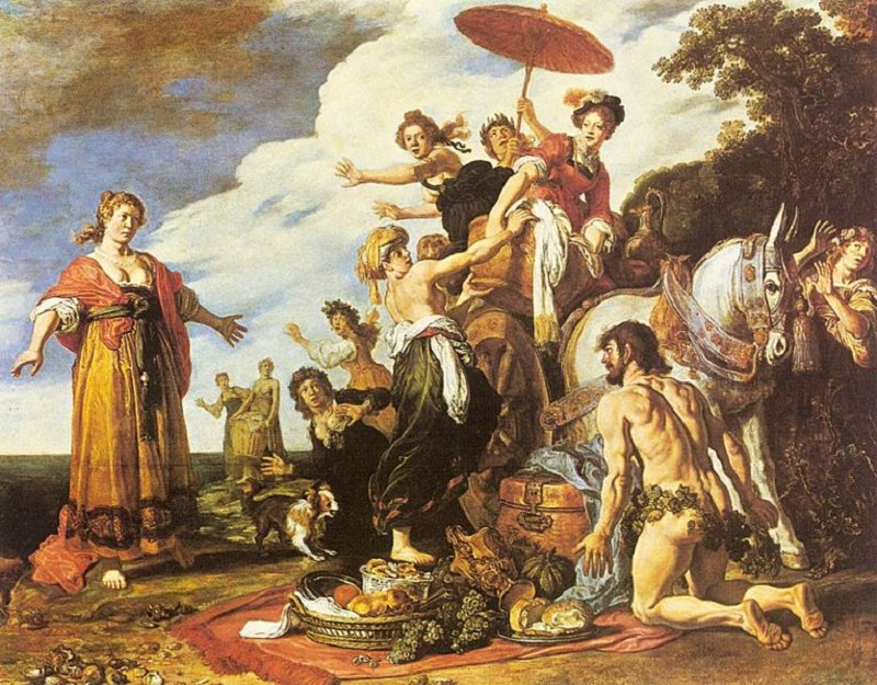 Odisseo e Nausicaä