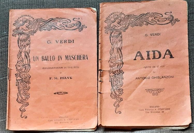 Libretti d'opera. Aida