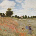 """""""Campo di papaveri"""" di Claude Monet"""