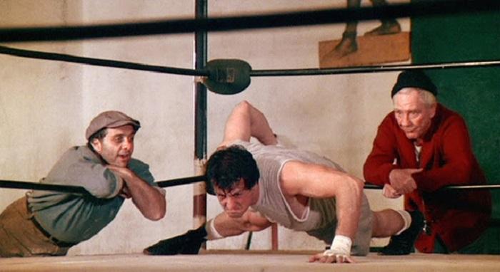 Rocky Balboa di Sylvester Stallone. Allenamento