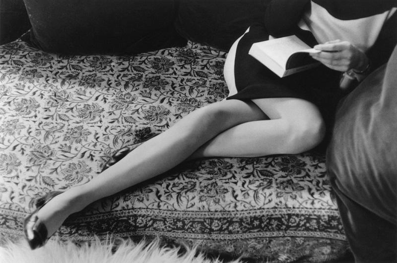 Henri Cartier-Bresson. Martine's Legs.