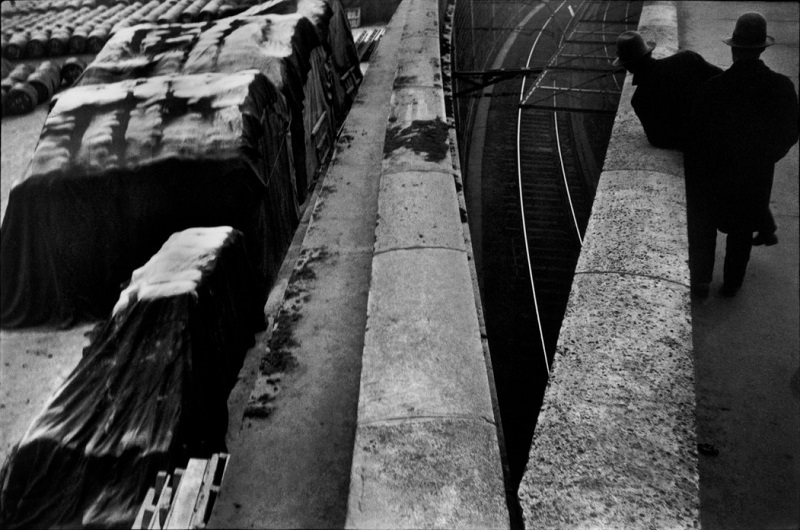 The Quai St Bernard di Henri Cartier-Bresson