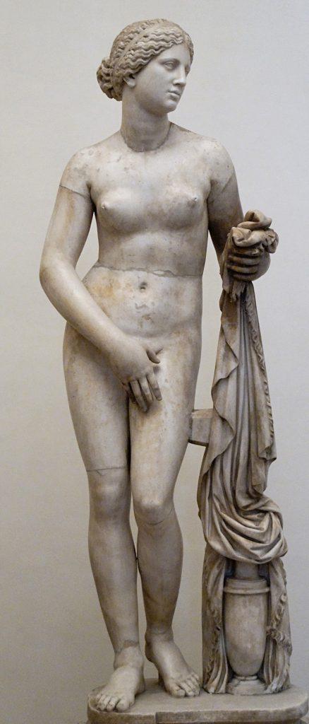 Afrodite Cnida, Venus Pudica di Prassitele