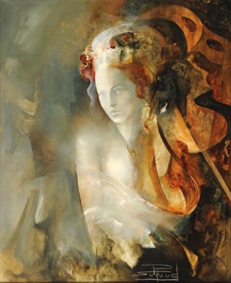 Femme symboliste di Roger Suraud